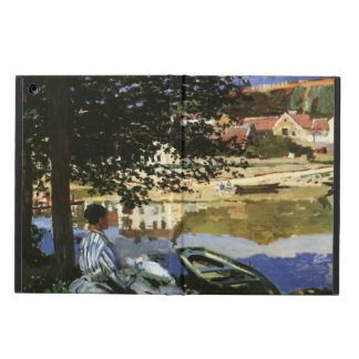 The Bank of the Seine, Bennecourt by Claude Monet iPad Air Cover