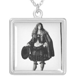 The Banker, 1678 Silver Plated Necklace