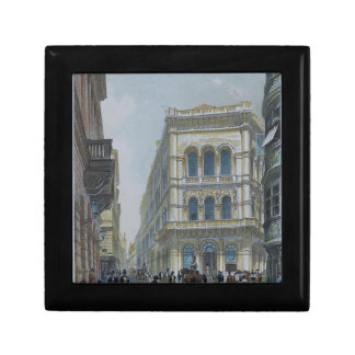 The banking and stock exchange building jewelry box