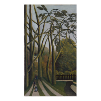 The Banks of the Bièvre - Henri Rousseau Business Card