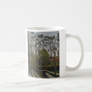 The Banks of the Bièvre - Henri Rousseau Coffee Mug
