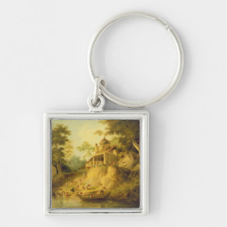 The Banks of the Ganges, c.1820-30 (oil on canvas) Keychains