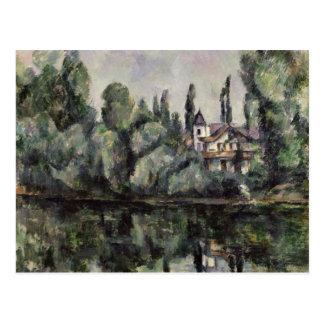 The Banks of the Marne, 1888 Postcard