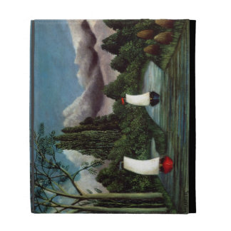 The Banks of the Oise, 1905 (oil on canvas) iPad Folio Case
