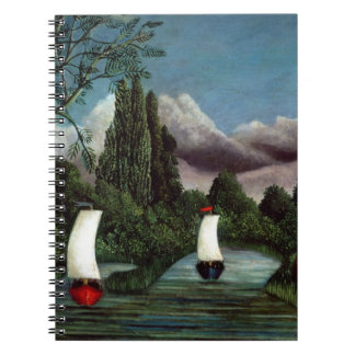 The Banks of the Oise, 1905 (oil on canvas) Notebook