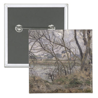 The Banks of the Oise Pinback Buttons