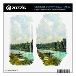 The banks of the Oise by Alfred Sisley Samsung Eternity II Decal