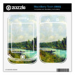 The banks of the Oise by Alfred Sisley BlackBerry Torch Skin