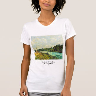 The Banks Of The Oise,  By Sisley Alfred T-shirts