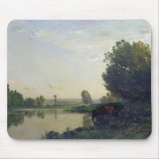 The Banks of the Oise, Morning, 1866 Mouse Pad