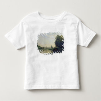 The Banks of the Oise, Morning, 1866 Toddler T-shirt