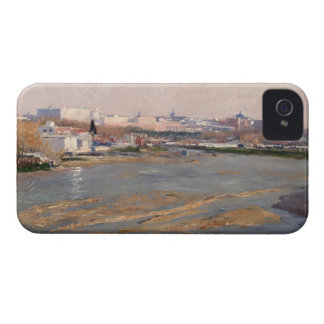 The Banks of the River Manzanares, 1912 (oil on ca iPhone 4 Case