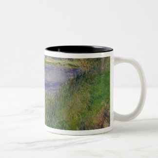 The Banks of the Seine, Champrosay, 1876 Two-Tone Coffee Mug