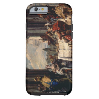 The Banquet of Anthony and Cleopatra, c.1744 (oil Tough iPhone 6 Case