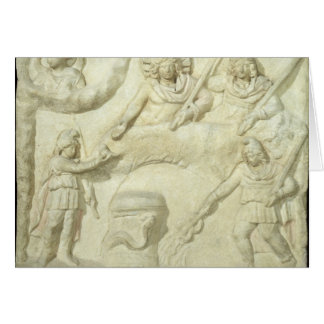 The Banquet of Mithras and the Sun Card