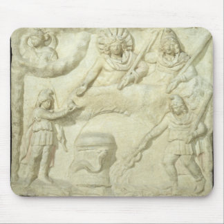 The Banquet of Mithras and the Sun Mouse Pad
