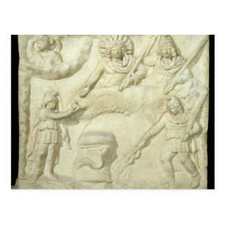 The Banquet of Mithras and the Sun Postcard