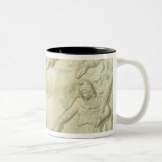 The Banquet of Mithras and the Sun Two-Tone Coffee Mug