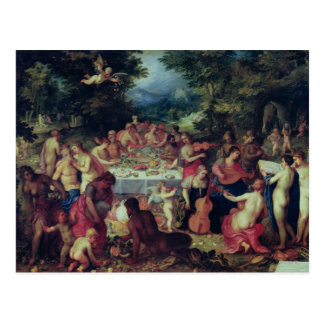 The Banquet of the Gods Postcard