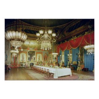 The Banqueting Room, 1815-23 Poster