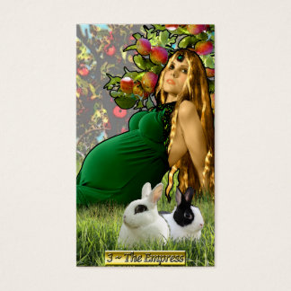 The Banx Tarot Empress Business Cards