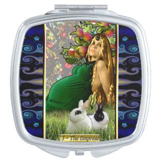 The Banx Tarot Empress Compact Mirror