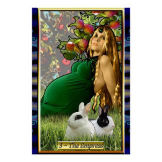 The Banx Tarot Empress Poster