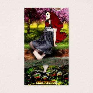 The Banx Tarot Fool Business Cards