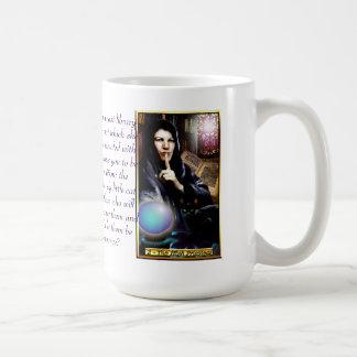 The Banx Tarot High Priestess Classic White Coffee Mug