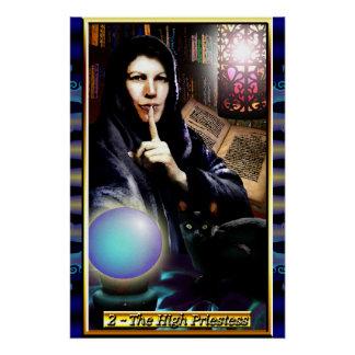 The Banx Tarot High Priestess Poster