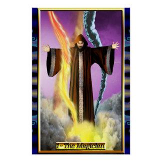 The Banx Tarot Magician Poster