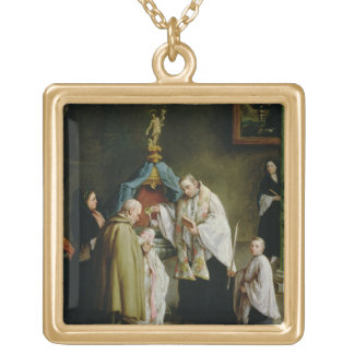 The Baptism Gold Plated Necklace