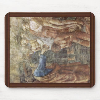 The Baptism Of A Convert By Masaccio (Best Quality Mouse Pad