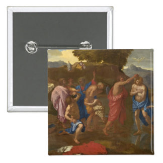 The Baptism of Christ 1641-42 Pins