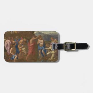 The Baptism of Christ, 1641-42 Luggage Tag