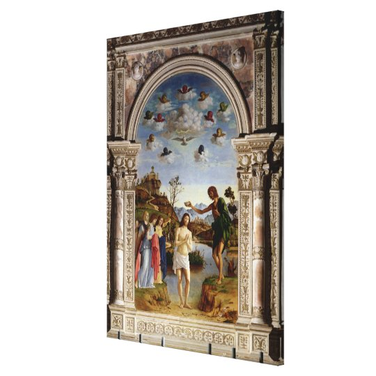The Baptism of Christ 2 Canvas Print