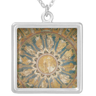 The Baptism of Christ 2 Silver Plated Necklace