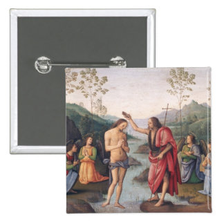The Baptism of Christ Pinback Button