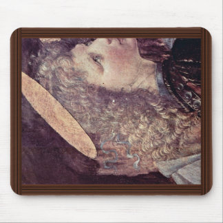 The Baptism Of Christ  By Andrea Del Verrocchio Mouse Pad