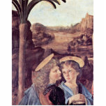 The Baptism Of Christ  By Andrea Del Verrocchio Photo Cut Out