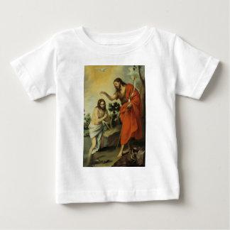 The Baptism of Christ by Bartolome Esteban Murillo Baby T-Shirt