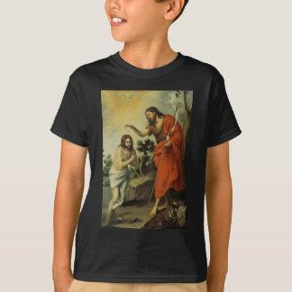 The Baptism of Christ by Bartolome Esteban Murillo T-Shirt