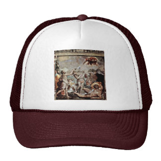 The Baptism Of Christ By Conte Jacopo Del (Best Qu Trucker Hat