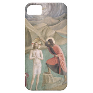 The Baptism of Christ, c.1438-45 (fresco) iPhone 5 Case