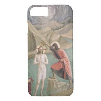 The Baptism of Christ, c.1438-45 (fresco) iPhone 8/7 Case