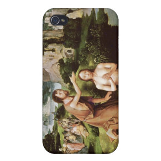 The Baptism of Christ, c.1515 iPhone 4 Covers