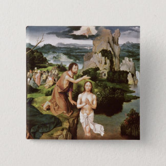 The Baptism of Christ, c.1515 Pinback Button