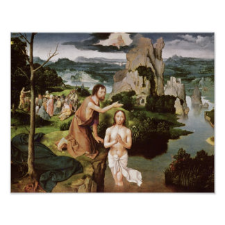 The Baptism of Christ, c.1515 Poster