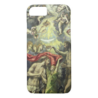 The Baptism of Christ, c.1597 (oil on canvas) iPhone 8/7 Case