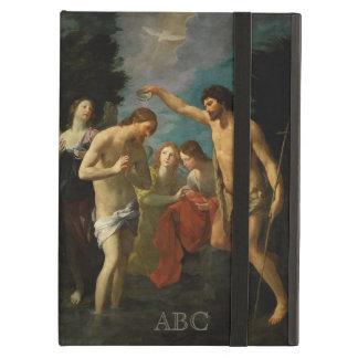 """""""The Baptism of Christ"""" custom monogram cases"""